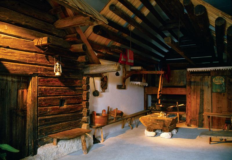Portale delle alpi e prealpi giulie bohinj for Interni di case in legno contemporanee